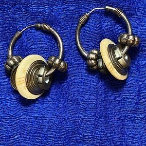 Tabra hoop earrings, vintage
